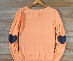 sweater and hearts image