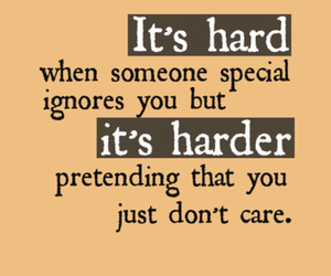 quote, hard, and ignore image