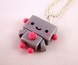 cute, heart, and necklace image