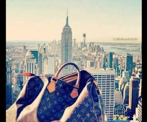 Louis Vuitton, bag, and new york image