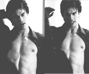 body, the vampire diaries, and damon salvatore image