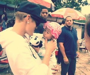 baby, justin bieber, and cute image