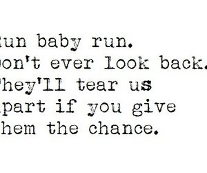 quote, baby, and we the kings image