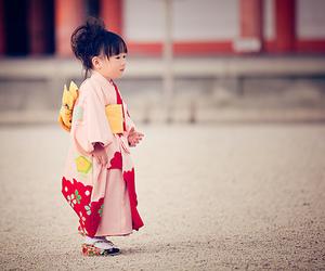 cute, kimono, and japan image