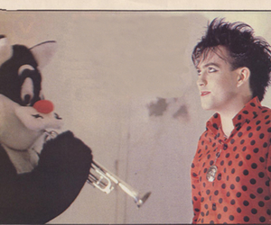 the cure, robert smith, and cute image