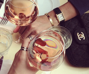 chanel, cheers, and classy image