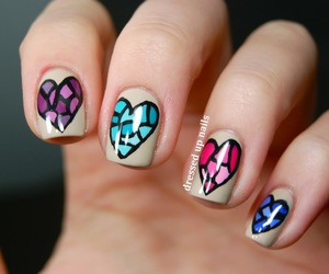 nails and hearts image