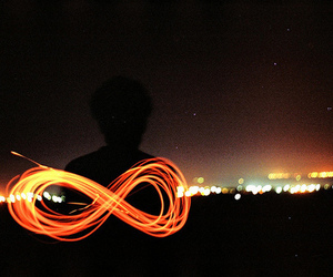 infinity, infinite, and forever image