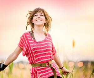 pink, wallpaper, and lindsey stirling image