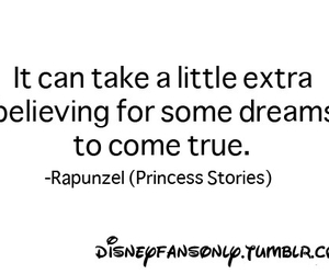 quote, rapunzel, and disney image