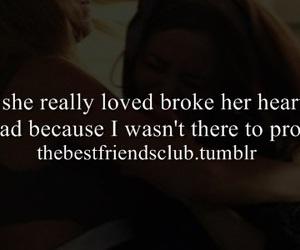 best friend, broke, and heart image
