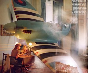 tim walker, airplane, and photography image