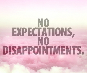 quote, expectations, and no image