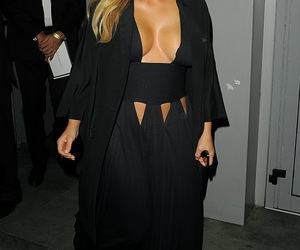 dress and kim kardashian image