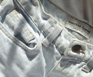 jeans, fashion, and american apparel image