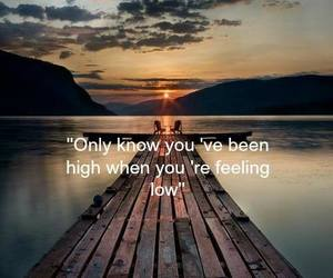 high, low, and quote image
