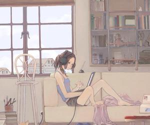 cats and manga image