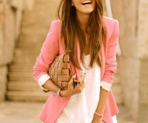 fashion, pink, and dress image
