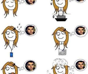 cool, belieber, and justin image