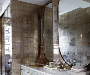 luxe, rich, and bathrom image