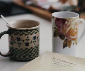 vintage, tea, and coffee image