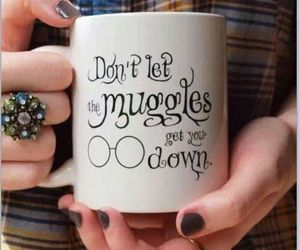 coffee, harry potter, and cool image