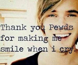 pewdiepie, pewds, and cry image