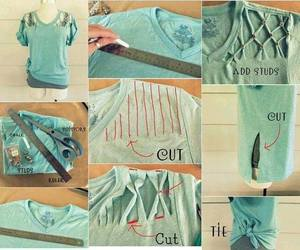 diy, shirt, and do it yourself image
