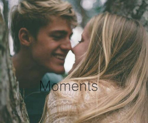 moment, love, and couple image