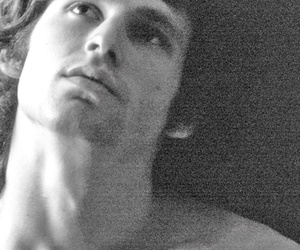 black and white, Hot, and Jim Morrison image