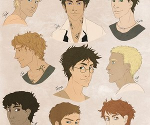 harry potter and percy jackson image