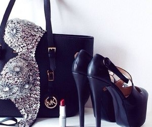 fashion, heels, and bag image