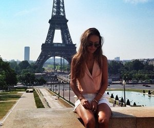 girl, paris, and fashion image