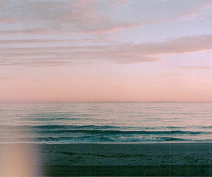 sea, vintage, and sky image