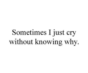 cry, quotes, and sad image