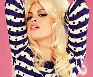 blonde and pink image
