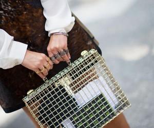 bag, cage, and diy image