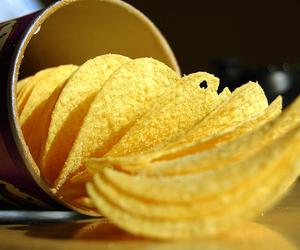 potato, potato chips, and food image