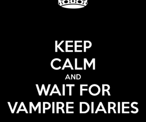 keep calm, the vampire diaries, and tvd image