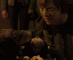 harry potter, ronald weasley, and fred weasley image