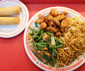 Chicken, chinese, and chinese food image
