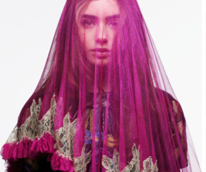 lily collins and Queen image