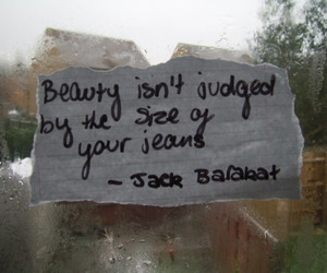 quote, beauty, and jack barakat image