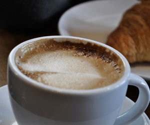 chocolate, coffe, and food image