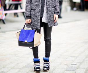 girl, street, and style image