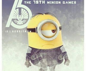 minion and hunger games image