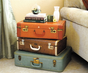 vintage and suitcases image