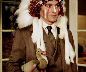 johnny depp, indian, and duck image