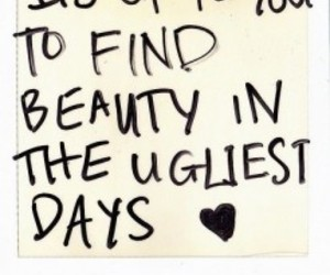 quote, beauty, and ugly image