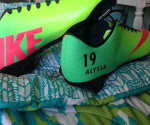 Alyssa, cleats, and new image